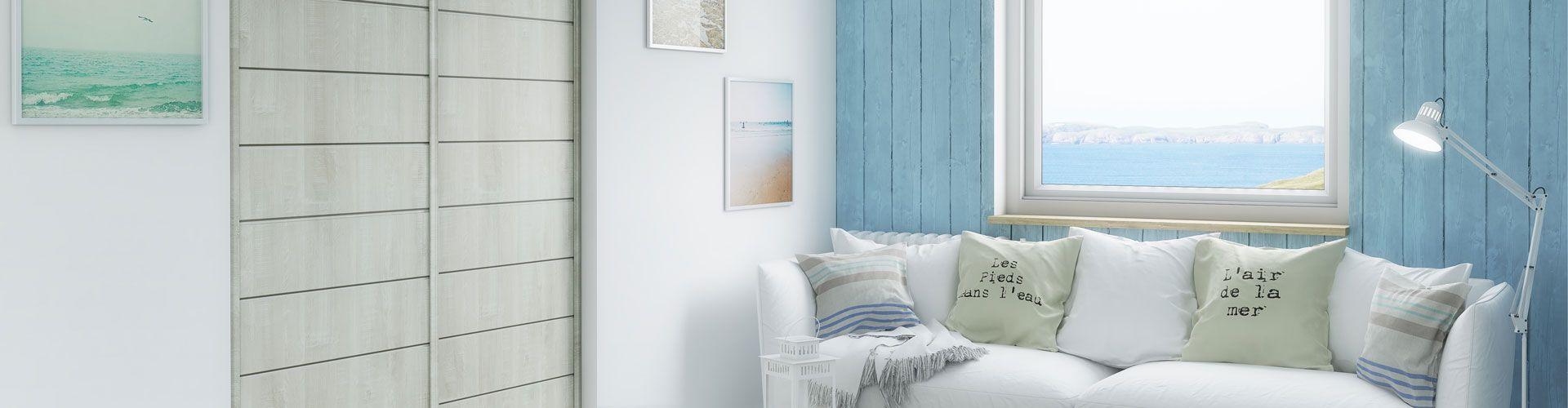 portes de placard coulissante biarritz kazed. Black Bedroom Furniture Sets. Home Design Ideas
