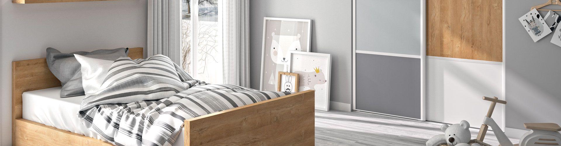 portes de placard scandinave pour chambre d 39 enfants kazed. Black Bedroom Furniture Sets. Home Design Ideas